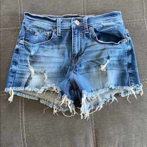 Women's Express Jeans (slightly distressed) Size 4